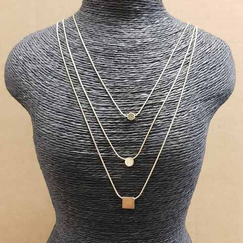 3 in 1 gold necklace