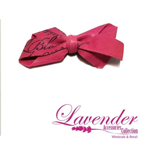 Pink Fashion Hair Clip