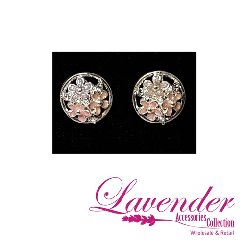 Florist Round Earring