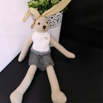 Rabbit Bag Charm