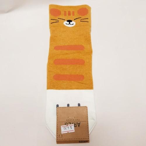 Smiling Cat Sock