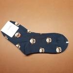 Minimal Bull Dog Sock