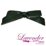 Dark Green Ribbon Hair Clip