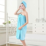 bamboo towel hair cap (2pcs)