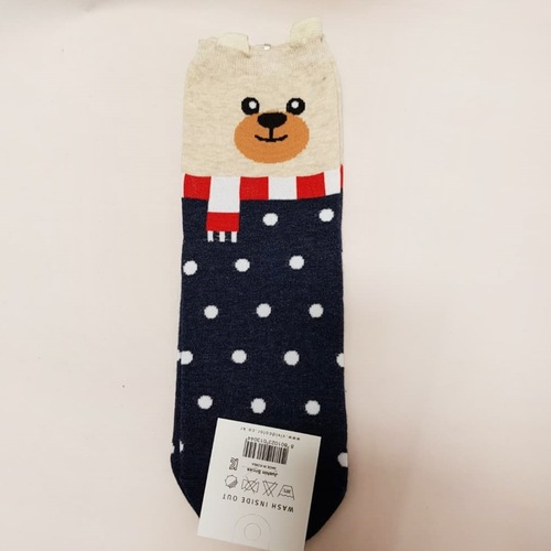 Bear Polka Dots Sock