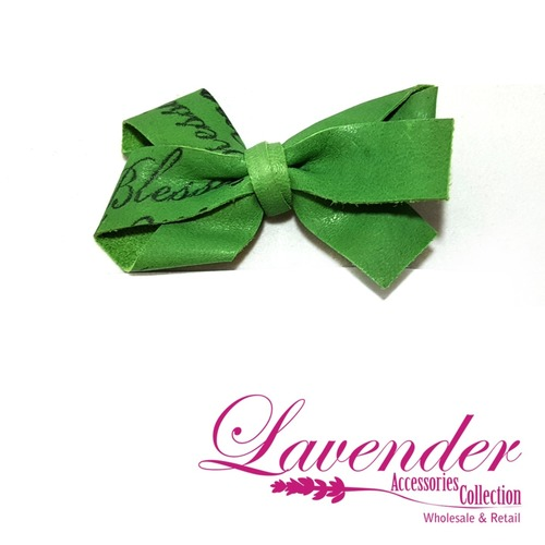 Green Fashion Hair Clip