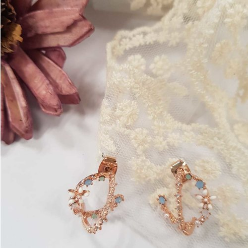 Fashion Flower Design Earring