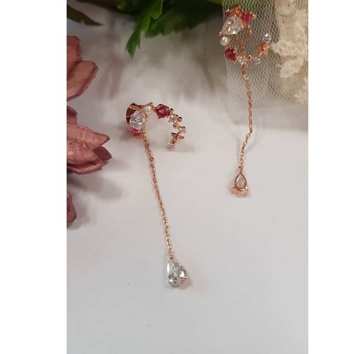 Strawberry Red  Earring