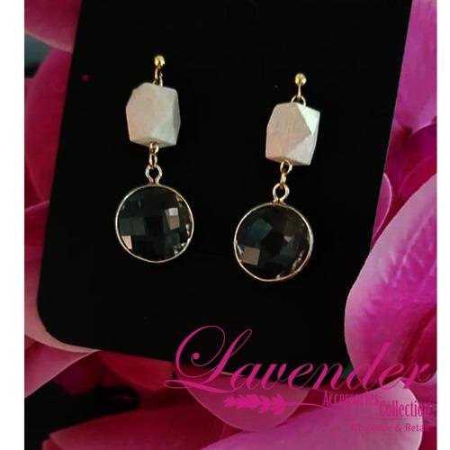 Elegant Black Diamond Earring