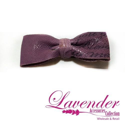 Purple Fashion Ribbon Hair Clip