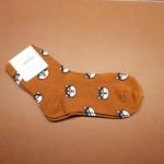 Minimal Puppy Brown Sock