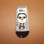 Gangnam Grey Sock