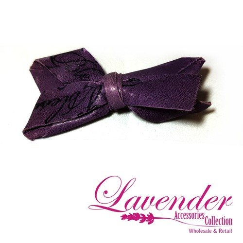 Purple Fashion Hair Clip