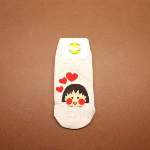 Maruko Heart Sock
