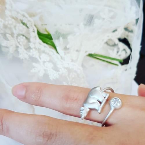 Silver Animal Ring