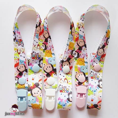 Multipurpose Toy clip / Pacifier clip / Teether Holder Clip - Tsum