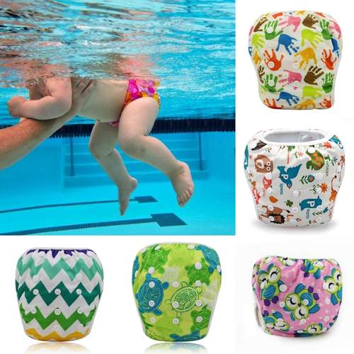Washable Reusable Adjustable Swim Diapers / Swim Pants