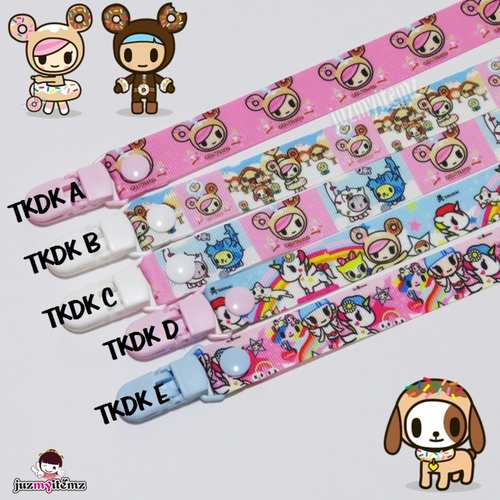 Multipurpose Toy clip / Pacifier clip / Teether Holder Clip - Tokidoki (A to E)