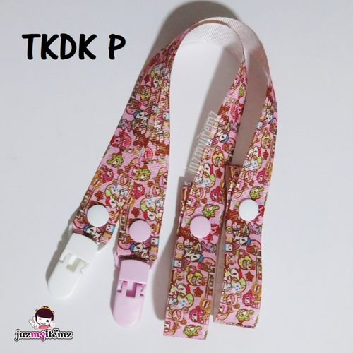 Multipurpose Toy clip / Pacifier clip / Teether Holder Clip - Tokidoki (P to T)