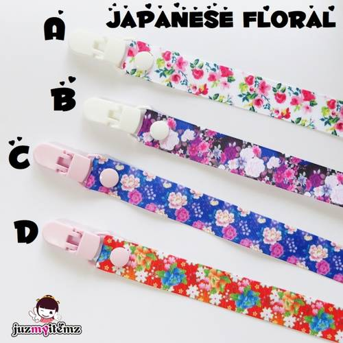 Multipurpose Toy clip / Pacifier clip / Teether Holder Clip - Japanese Style