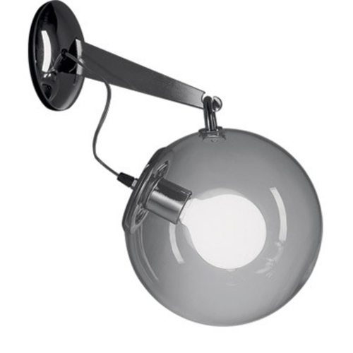 Enclosed Globe Wall Light (DISPLAY SET SALE CLEARANCE)