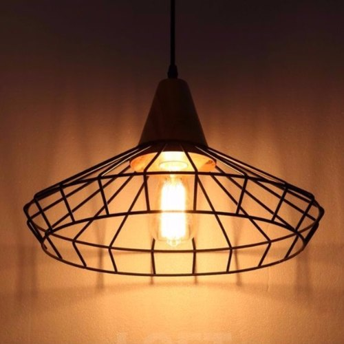 Woody Cage Pendant Light (2 Designs)
