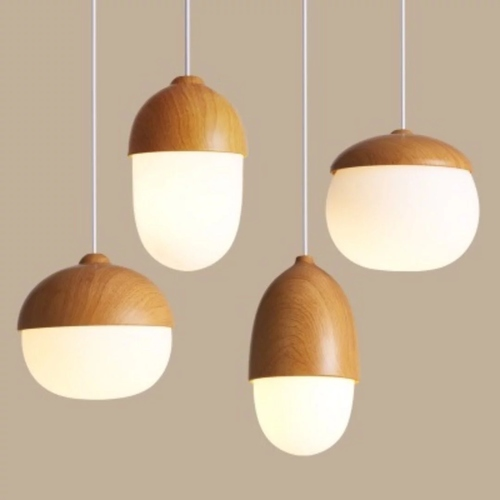 Acorn Pendant Light (4 Designs)