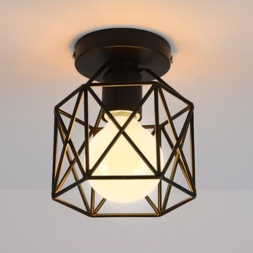 Criss Cross Entrance Ceiling Light