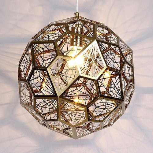 Polygonal Pendant Light