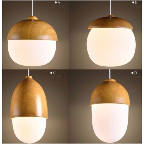 Acorn Pendant Light (4 Designs)