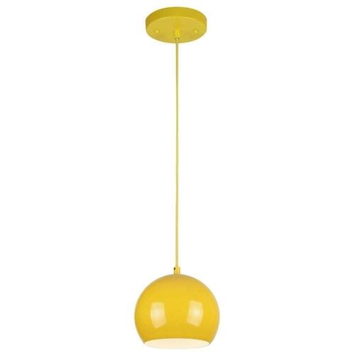 Yellow Shade Pendant Light