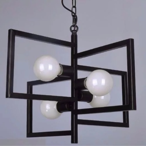 Four Squares Pendant Light Set