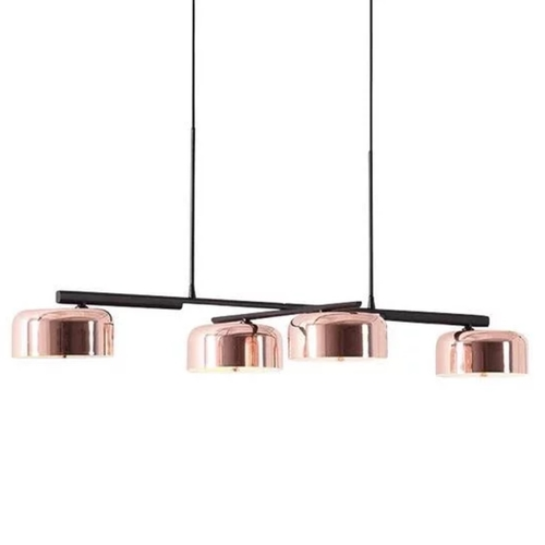 Rose Gold Pans Pendant Light Set
