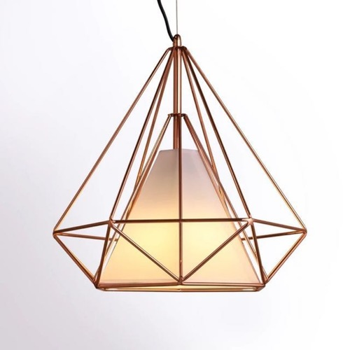 Rose Gold Pendant Light with Shade (SPECIAL SALE)
