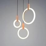 Glowing Ring Pendant Light
