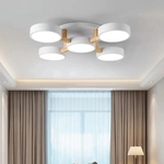 Circular Wood Connection Ceiling Light
