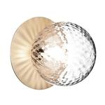 Crystal Globe Wall Lamp