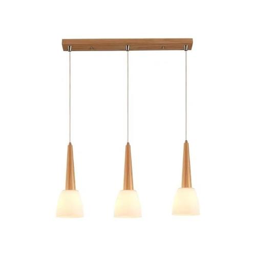 Scandinavian Long Cone Pendant Light Set of 3