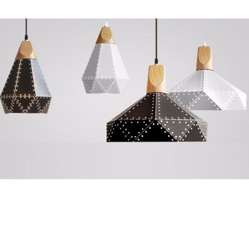 Geometric Nordic Pendant Light (2 Designs)