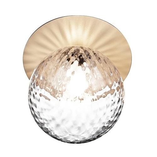 Crystal Globe Ceiling Light