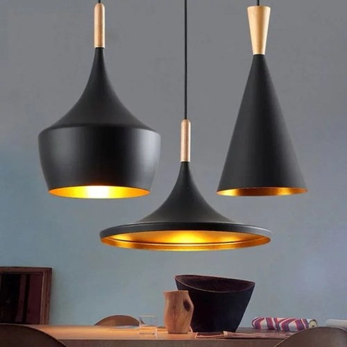 Musical with Wood Tip Pendant Light (3 Designs)
