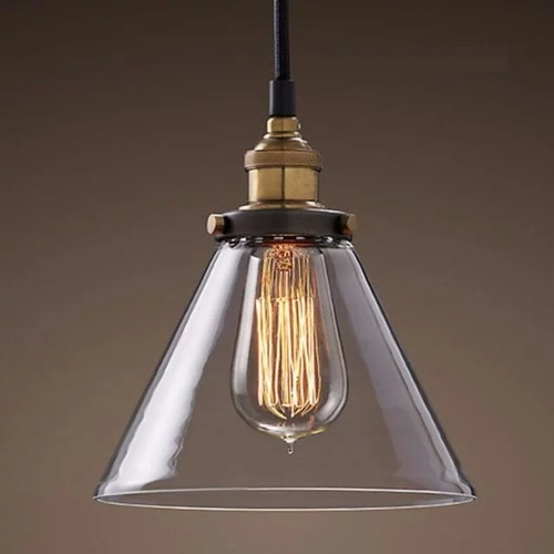Industrial Cone Pendant Light