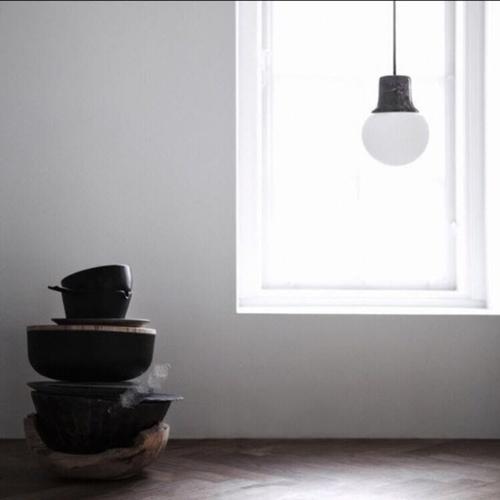 Marble Pendant Light