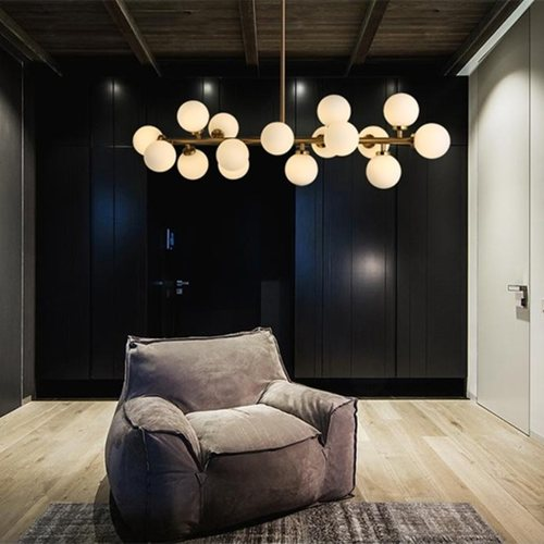 DNA Globe Pendant Light Set