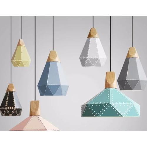 Geometric Nordic Pendant Light (2 Designs)