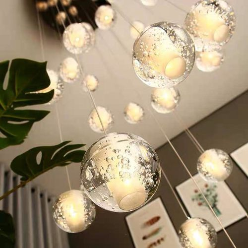 Bubble Glass Ball Pendant Light