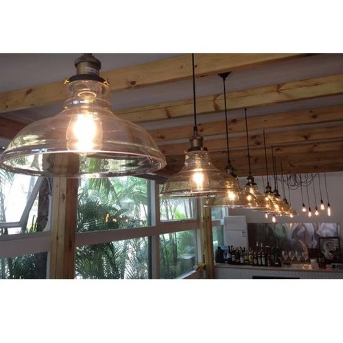 American Industrial Pendant Light