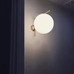 Sunshine Globe Wall Light