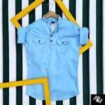 Men's Branded Cotton Shirt K