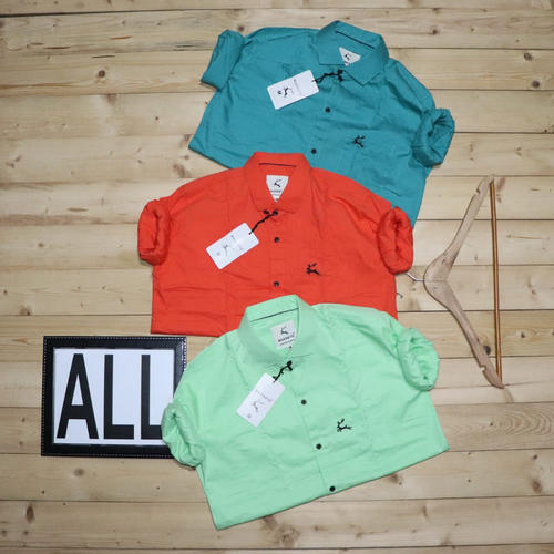 Men's Pure Cotton Shirt COMBO